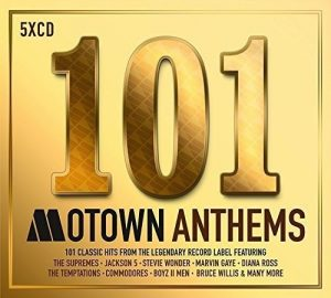 101 Motown Anthems 5CD Set