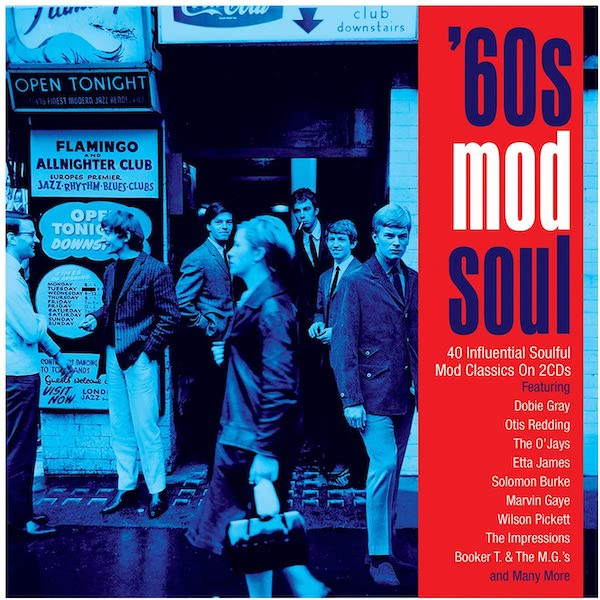 60s Mod Soul - 40 Influential Soulful Mod Classics - Various Artists 2x CD (Not Now Music)