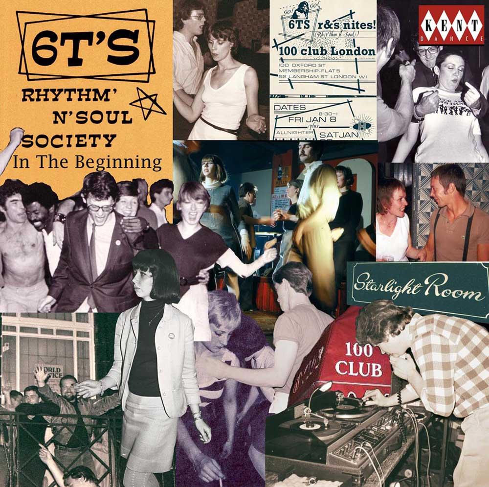 6T'S Rhythm N Soul Society – In The Beginning – Various Artists CD (Kent)