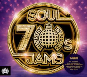 70s Soul Jams - Ministry Of Sound 3x CD (Sony)