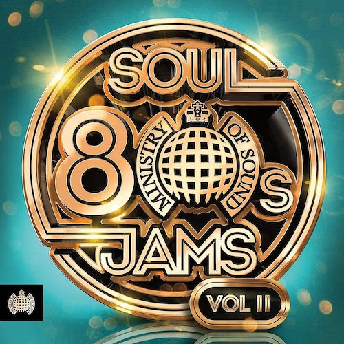 80s Soul Jams Volume 2 - Ministry Of Sound 3x CD (Sony)
