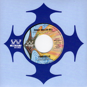 "Funkadelic - Funky Dollar Bill / (Instrumental) 45 (BGP) 7"" Vinyl"