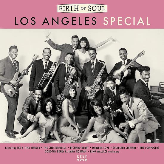Birth Of Soul - Los Angeles Special - Various Artists CD (Kent)