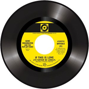 """Geno Washington & The Ram Jam Band - If This Is Love (I'd Rather Be Lonely) / Stuart Smith - The Drifter 45 (Outta Sight) 7"""" Vinyl"""