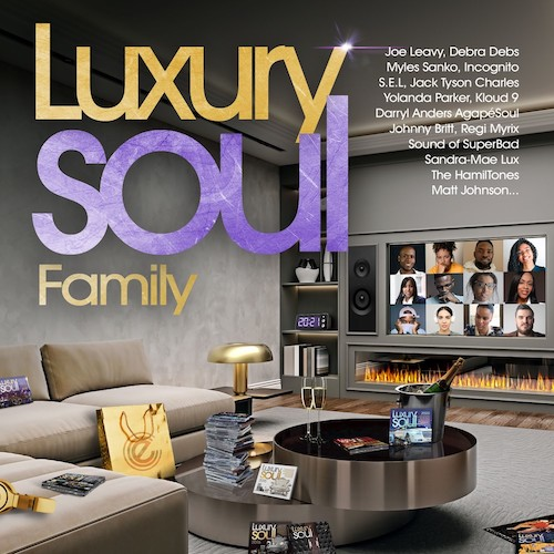 Luxury Soul 2021 - Various Artists 3X CD (Expansion)