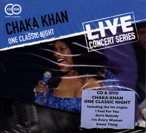 Chaka Khan - One Classic Night CD+DVD Set (Wienerworld)