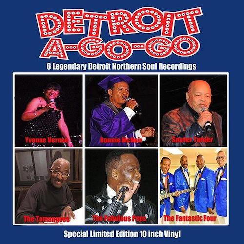 """Detroit A-Go-Go 6 Legendary Detroit Northern Soul Recordings EP (Detroit A Go Go) 10"""" Vinyl"""