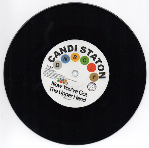 """Candi Staton - Now You've Got The Upper Hand / Chappells - You're Acting Kind Of Strange 45 (Deptford Northern Soul Club) 7"""""""