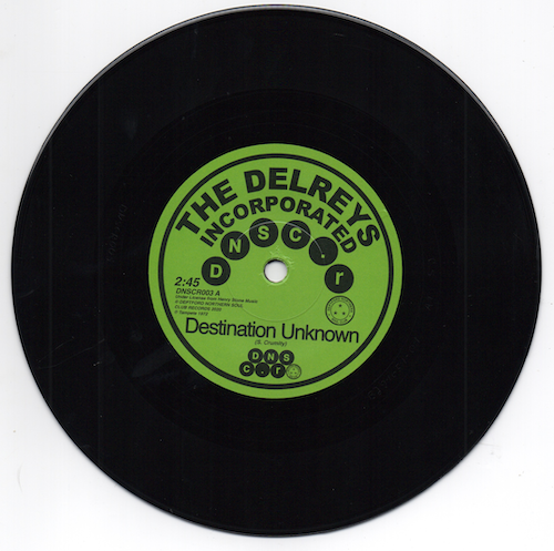 Delreys Incorporated - Destination Unknown / Oscar Wright - Fell In Love 45 (Deptford Northern Soul Club) 7""