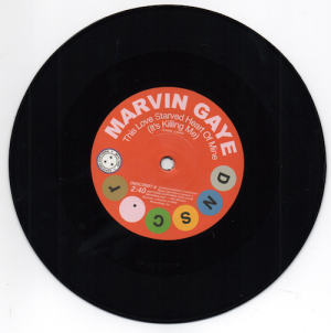 """Marvin Gaye - This Love Starved Heart Of Mine / Shorty Long - Don't Mess With My Weekend 45 (DNSC) 7"""""""