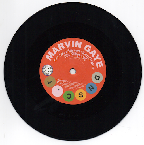 Marvin Gaye - This Love Starved Heart Of Mine / Shorty Long - Don't Mess With My Weekend 45 (DNSC) 7""