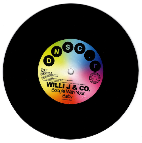 Willi J & Co - Boogie With Your Baby / Rare Function - Disco Function 45 (Deptford Northern Soul Club) 7""