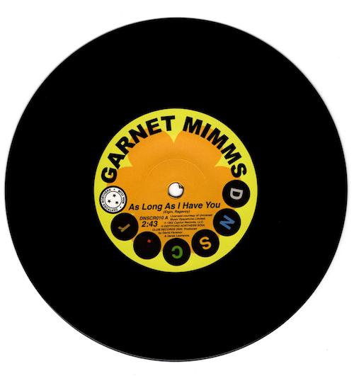 "Garnet Mimms - As Long As I Have You / (Single Version) 45 (Deptford Northern Soul Club) 7"" Vinyl"