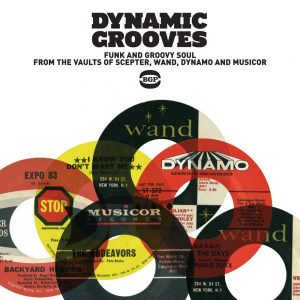 Dynamic Grooves - Various Artists CD (BGP)