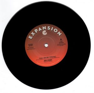 """Jeff Perry - Call On Me (Vocal) / (Instrumental) 45 (Expansion) 7"""" Vinyl"""