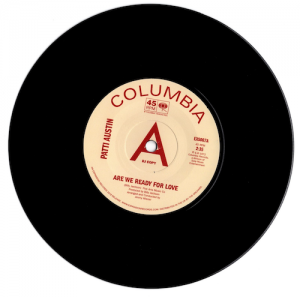 """Patti Austin - Are We Ready For Love / Didn't Say A Word BLACKPOOL DJ COPY 45 (Expansion) 7"""" Vinyl"""