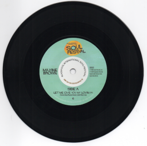 """Maxine Brown - Let Me Give You My Lovin' / One In A Million 45 (Expansion) 7"""" Vinyl"""