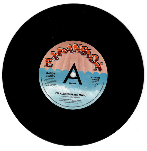 """Randy Brown - I'm Always In The Mood / Love Is All We Need DEMO 45 (Expansion) 7"""" Vinyl"""