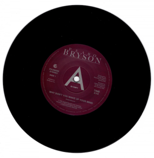 """Peabo Bryson - Why Don't You Make Up Your Mind / Paradise DEMO 45 (Expansion) 7"""" Vinyl"""