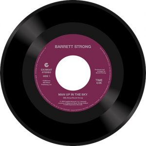 "Barrett Strong - Man Up In The Sky / Is It True 45 (Expansion) 7"" Vinyl"