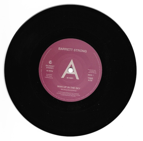 "Barrett Strong - Man Up In The Sky / Is It True DEMO 45 (Expansion) 7"" Vinyl"