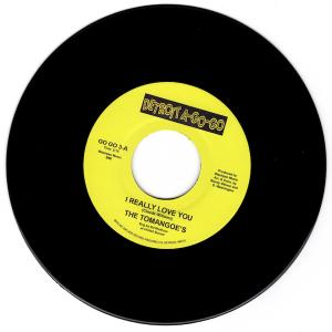 "Tomangoes - I Really Love You / Gino Washington - Rat Race 45 (Detroit A Go Go) 7"" Vinyl"