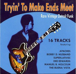Tryin' To Make Ends Meet - Rare Vintage Detroit Funk - Various Artists CD (Goldmine Soul Supply)