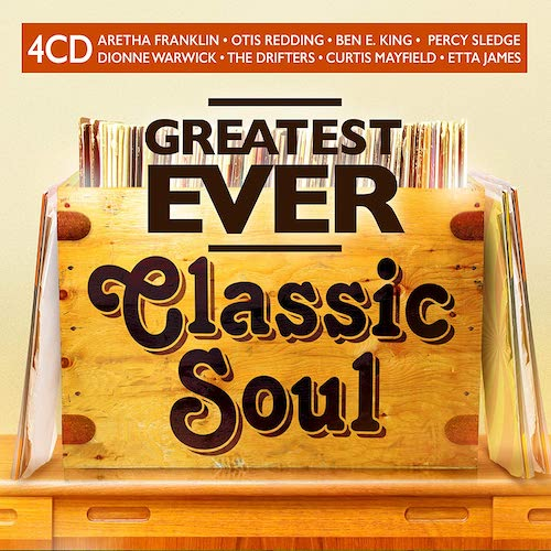 Greatest Ever Classic Soul - Various Artists 4X CD (Union Square)