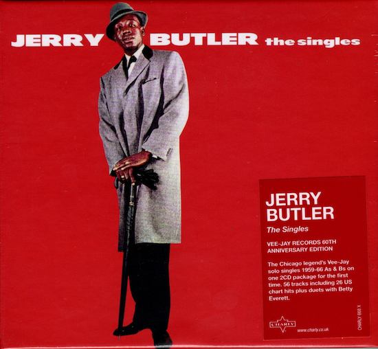 Jerry Butler - The Singles 2x CD (Charly)