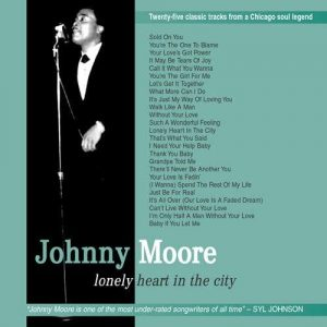 Johnny Moore - Lonely Heart In The City CD (Grapevine)