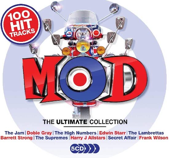 Mod The Ultimate Collection - Various Artists 5X CD (Union Square)