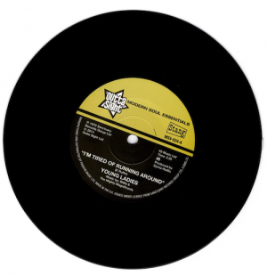 """Young Ladies - I'm Tired Of Running Around / B.B.P – (I'm In) The Prime Of Love 45 (Outta Sight) 7"""" Vinyl"""