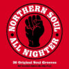 Northern Soul All Nighter -36 Original Soul Grooves - Various Artists 180g 2x LP Vinyl (Not Now Music)