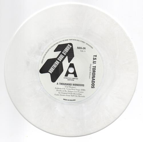 "T.S.U Toronados - A Thousand Wonders / (Vocal Take 2) 45 White 7"" Vinyl"