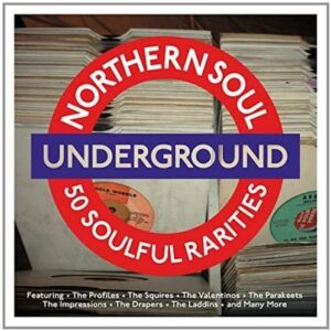 Northern Soul Underground - 50 Soulful Rarities - Various Artists 2X CD (One Day Music)
