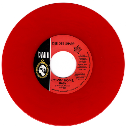 """Dee Dee Sharp - Comin' Home Baby / Standing In The Need Of Love 45 (Outta Sight) RED 7"""" Vinyl"""