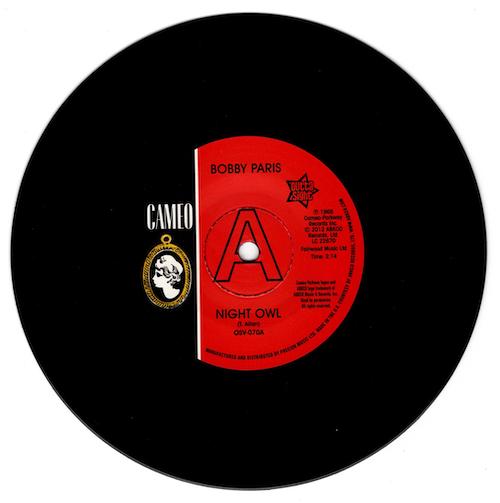 "Bobby Paris - Night Owl / Tears On My Pillow DEMO 45 (Outta Sight) 7"" Vinyl"