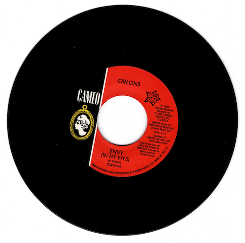 """Orlons - Envy (In My Eyes) / No Love But Your Love 45 (Outta Sight) 7"""" Vinyl"""