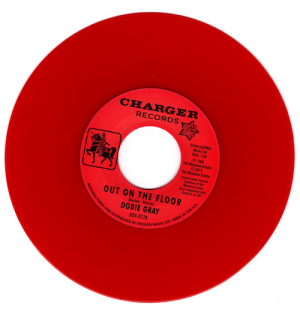 "Dobie Gray - Out On The Floor / The 'In' Crowd 45 (Outta Sight) RED 7"" Vinyl"