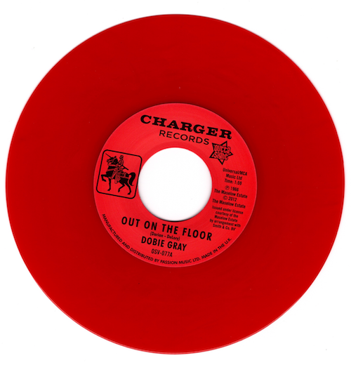 """Dobie Gray - Out On The Floor / The 'In' Crowd 45 (Outta Sight) RED 7"""" Vinyl"""
