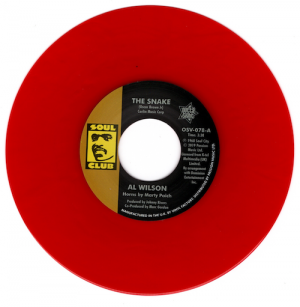"Al Wilson - The Snake / Show And Tell 45 (Outta Sight) RED 7"" Vinyl"