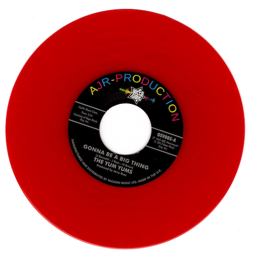 """Yum Yums - Gonna Be A Big Thing / Looky, Looky (What I Got) 45 (Outta Sight) RED 7"""" Vinyl"""