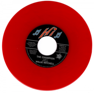 "Willie Mitchell - The Champion / Bill Black's Combo - Little Queenie 45 (Outta Sight) RED 7"" Vinyl"