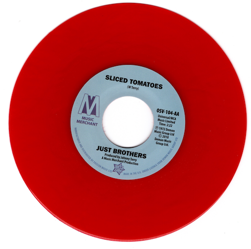 "Just Brothers - Sliced Tomatoes / Eloise Laws - Love Factory 45 (Outta Sight) RED 7"" Vinyl"