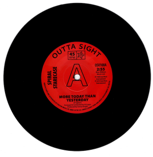 "Spiral Starecase - More Today Than Yesterday / Baby What I Mean DEMO 45 (Outta Sight) 7"" Vinyl"
