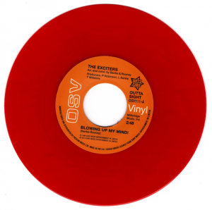 "The Exciters - Blowing Up My Mind / Turn Me On 45 (Outta Sight) RED 7"" Vinyl"