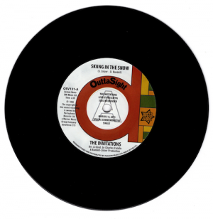 "Invitations - Skiing In The Snow / What's Wrong With Me Baby? DEMO 45 (Outta Sight) 7"" Vinyl"