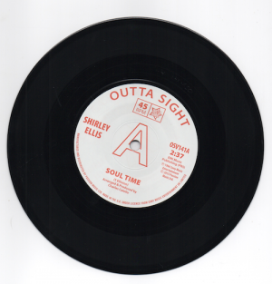 "Shirley Ellis - Soul Time / Lynne Randell - Stranger In My Arms DEMO 45 (Outta Sight) 7"" Vinyl"