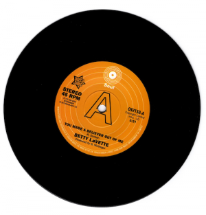 "Betty Lavette - You Made A Believer Out Of Me / Ujima – I'm Not Ready DEMO 45 7"" Vinyl"