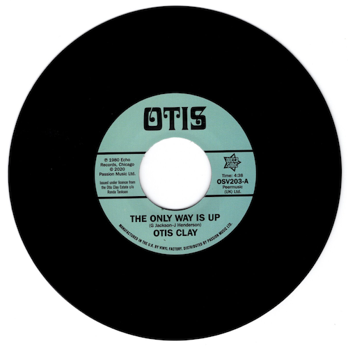 """Otis Clay - The Only Way Is Up / Messing With My Mind 45 (Outta Sight) 7"""" Vinyl"""